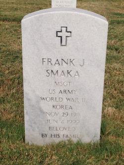 Frank John Smaka