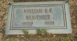William Henry Eugene Bravender