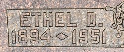 Ethel Dee <I>Laird</I> Scroggins