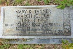 Mary Katherine <I>Glover</I> Tanner