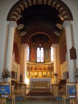 Interior of St Mary's Church Sunbury-on-Thames Mid