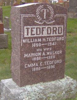 Marion Alice <I>Walker</I> Tedford