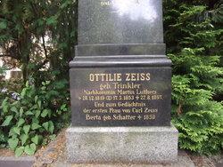 Ottilie <I>Trinkler</I> Zeiss