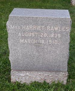 Harriet <I>Ferguson</I> Rawles