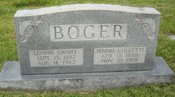 Jennie <I>Collette</I> Boger
