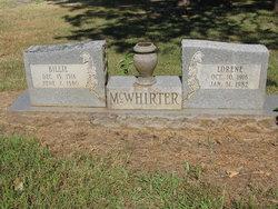 "Deverl Billie ""Bill"" McWhirter"