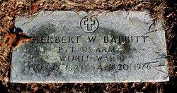Herbert W Babbitt
