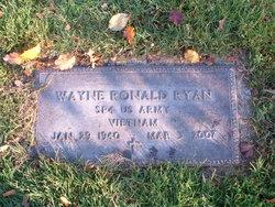 """Wayne Ronald """"Mick"""" Ryan"""
