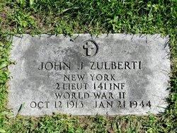 2LT John J Zulberti