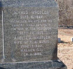 Adelia A <I>Wheeler</I> Burke