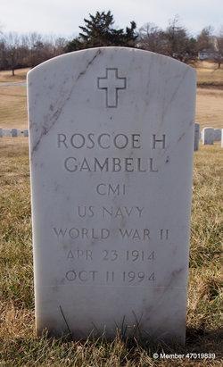 """Roscoe Howard """"Ross"""" Gambell"""
