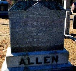 Maria <I>Winslow</I> Allen