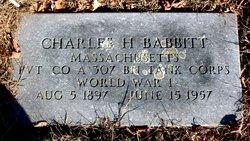 Charles H. Babbitt
