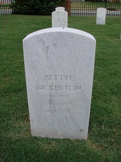 Bettye Bickerton