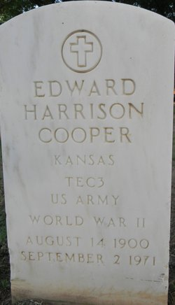 Edward Harrison Cooper