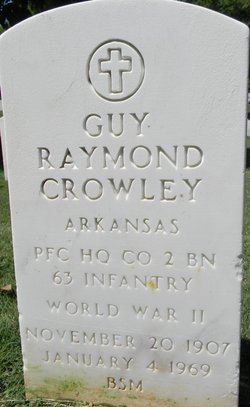 Guy Raymond Crowley
