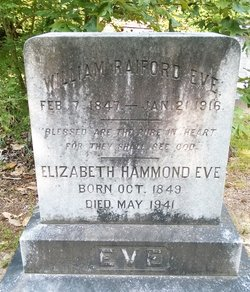 "Elizabeth ""Betty"" <I>Hammond</I> Eve"