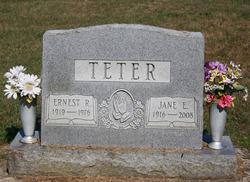 Jane E <I>McKinney</I> Teter