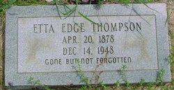 Etta <I>Edge</I> Thompson