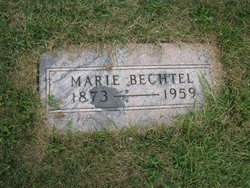 Marie <I>Mahler</I> Bechtel