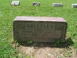 """Cora Alice """"Alice"""" <I>McCune</I> Bristley"""