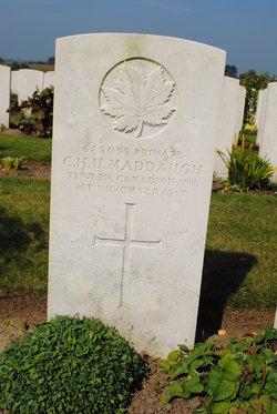 Private Chester Hebron Unsworth Maddaugh