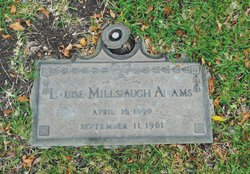 Louise <I>Millspaugh</I> Adams