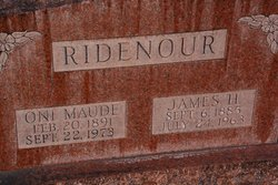 Oni Maude <I>Thomas</I> Ridenour