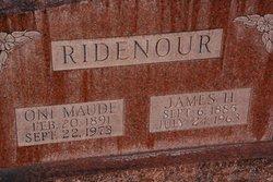 James Henry Ridenour