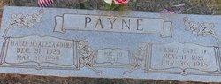 Hazel Martha <I>Alexander</I> Payne