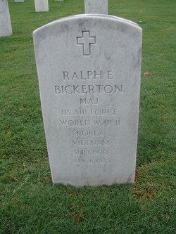 Ralph E Bickerton