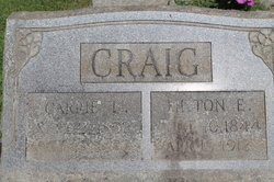 "Louisa Caroline ""Carrie"" <I>Strayhorn</I> Craig"