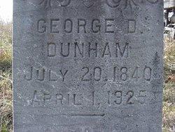 George Dudley Dunham