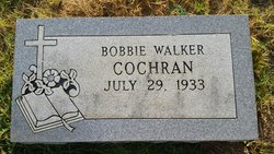 Bobbie Jo <I>Walker</I> Cochran