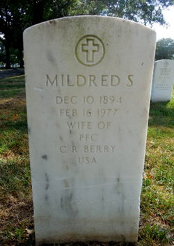 Mildred S Berry