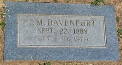 "James Morgan ""J. M."" Davenport"