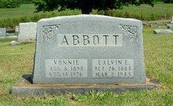 Mary Vonnie <I>Womble</I> Abbott
