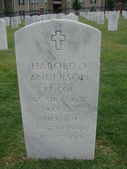 "Harold Joseph ""Andy"" Anderson"