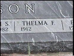 Thelma F. <I>Humburg</I> Wilson