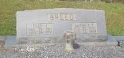 Bernice <I>Pittman</I> Breed