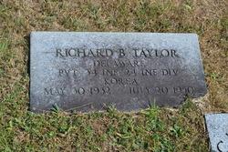 Pvt Richard B Taylor