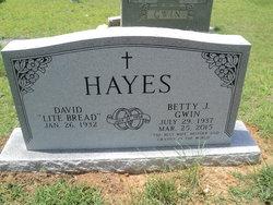 "Betty Gwin ""Granny"" Hayes"