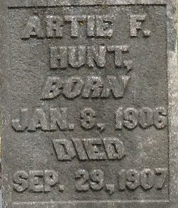 Artie F. Hunt