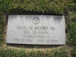 Paul M Berry, Sr