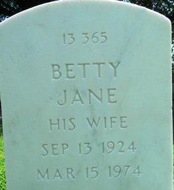 Betty Jane Biggerstaff