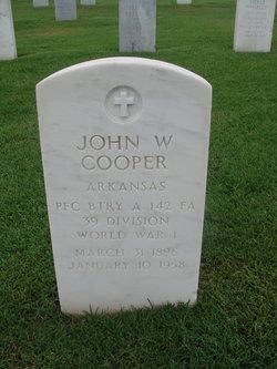 John W Cooper