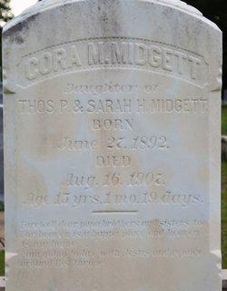 Cora M. Midgett
