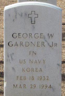 George W Gardner, Jr