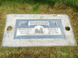 Myrtle <I>Davis</I> Worthen