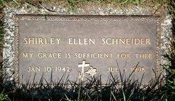 Shirley Ellen <I>Graff</I> Schneider
